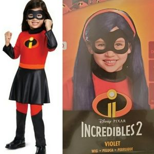 Incredibles 2 Violet Costume Small 4-6x